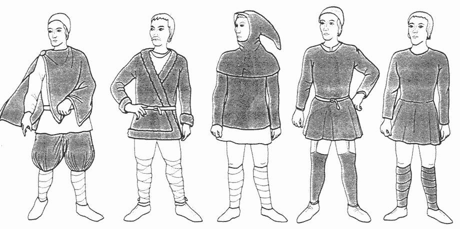 viikinki vaatteet
